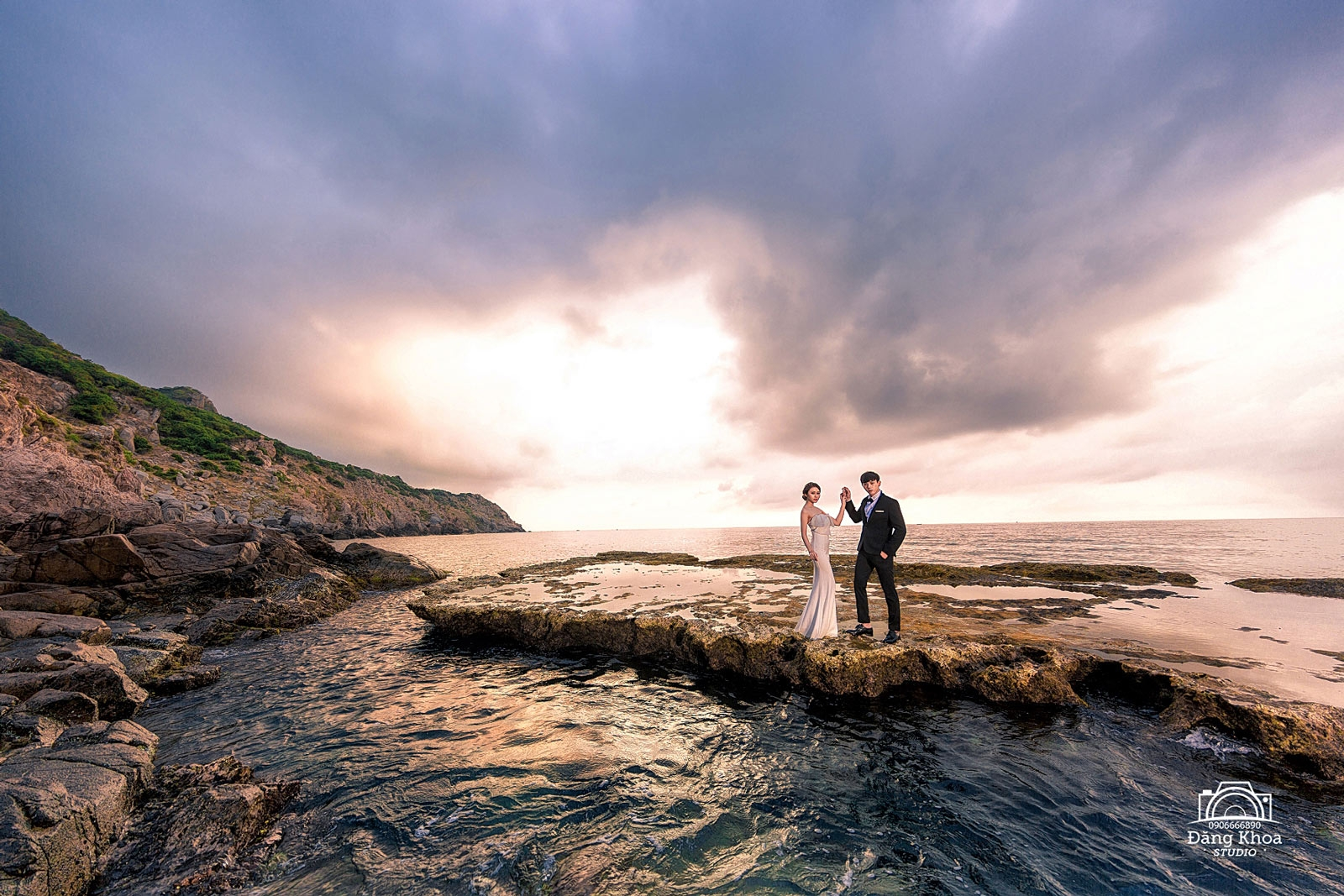 studio chụp ảnh cưới giá rẻ Hang Rái