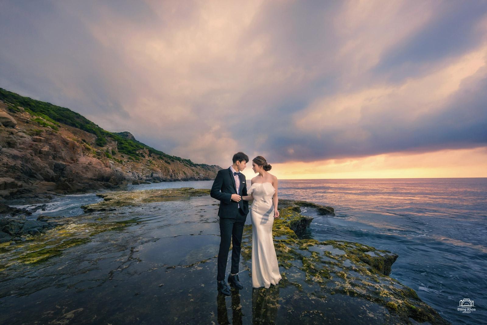 chụp hình cưới ở vịnh Vĩnh Hy