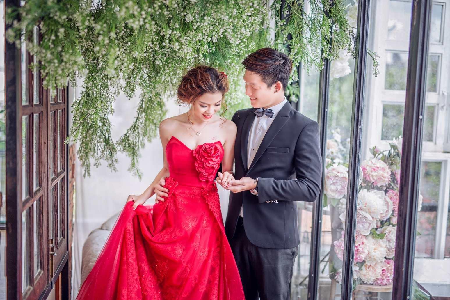 các kiểu váy cưới đẹp