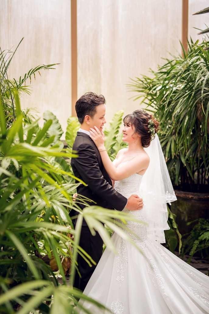 Chụp hình cưới trọn gói tại phim trường