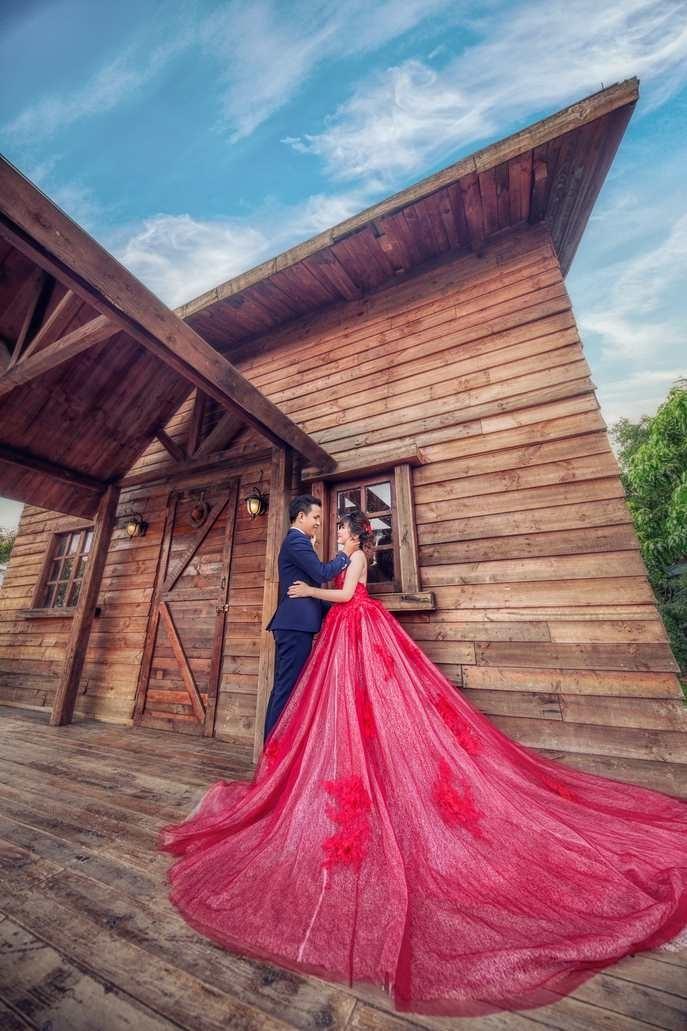Chụp ảnh cưới đẹp phim trường Cabin 69
