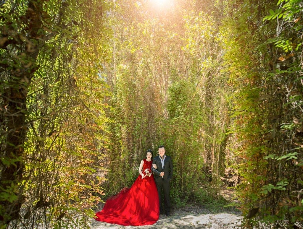 chụp ảnh cưới ngoại cảnh hồ cốc