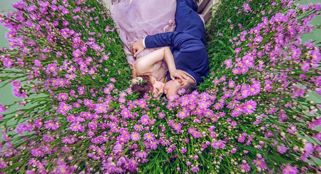 Hình cưới ngoại cảnh Hồ Cốc