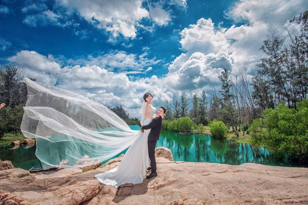 kinh nghiệm chụp ảnh cưới ở Hồ Cốc