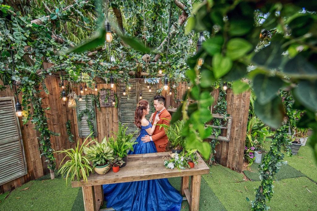 Chụp ảnh cưới trọn gói giá rẻ tại phim trường tphcm
