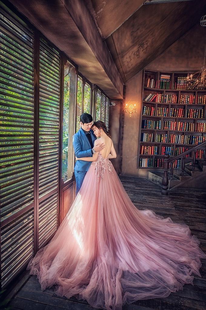 Các bối cảnh chụp ảnh cưới trong phim trường