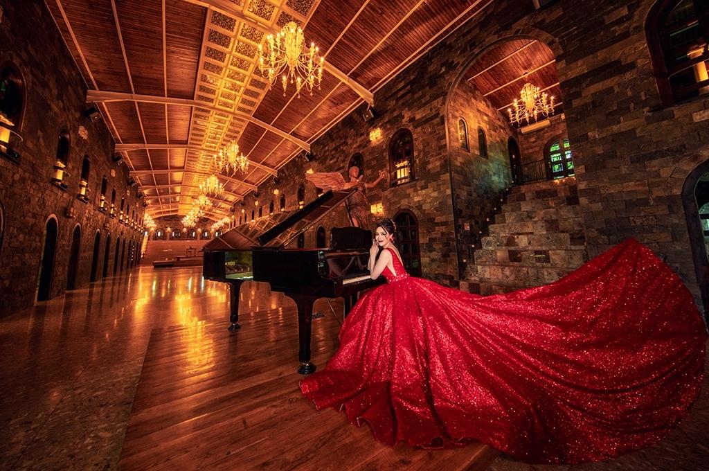 Chụp ảnh cưới đẹp phim trường Long island