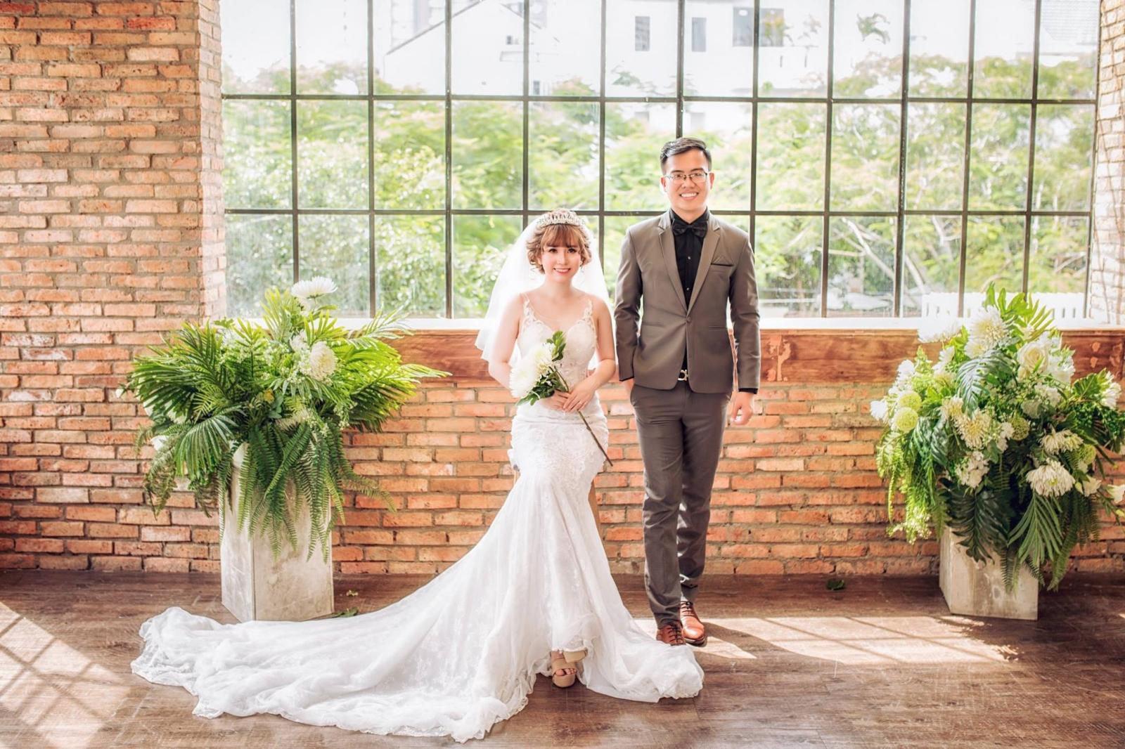 chụp album hình cưới tại phim trường Cabin 69
