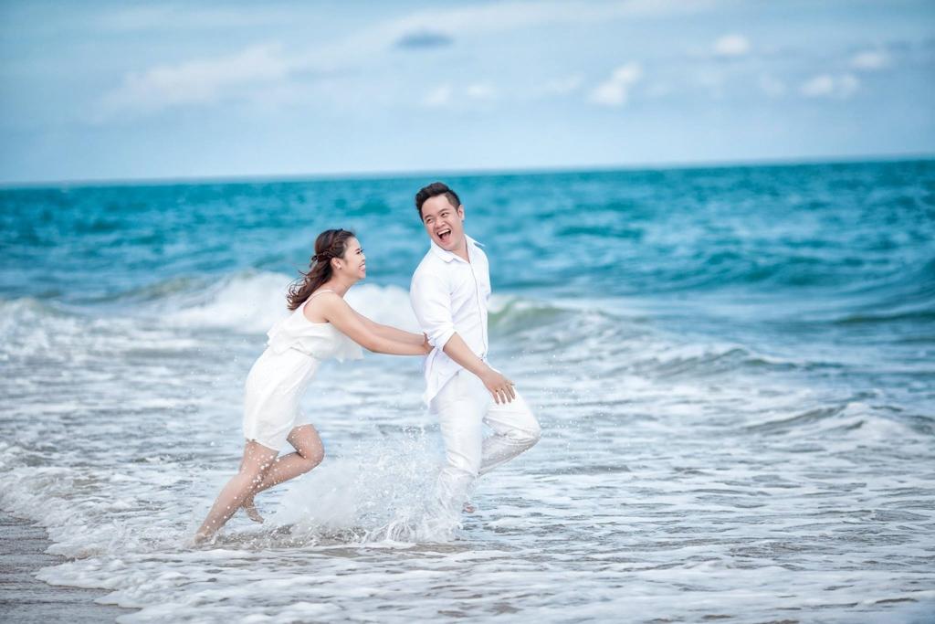 địa điểm chụp ảnh cưới tại Hồ Cốc