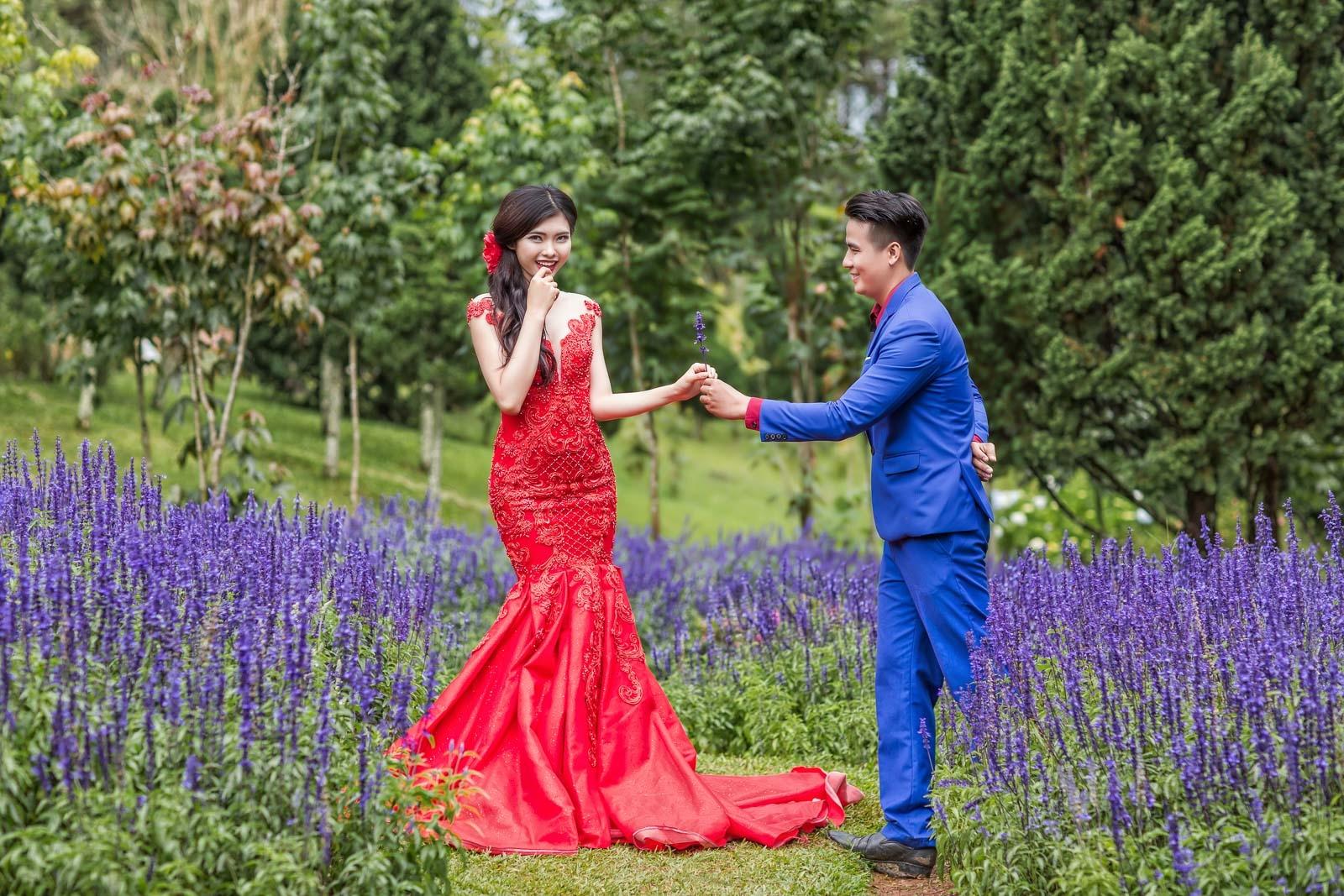 Đăng khoa studio chụp hình cưới Đà Lạt giá rẻ