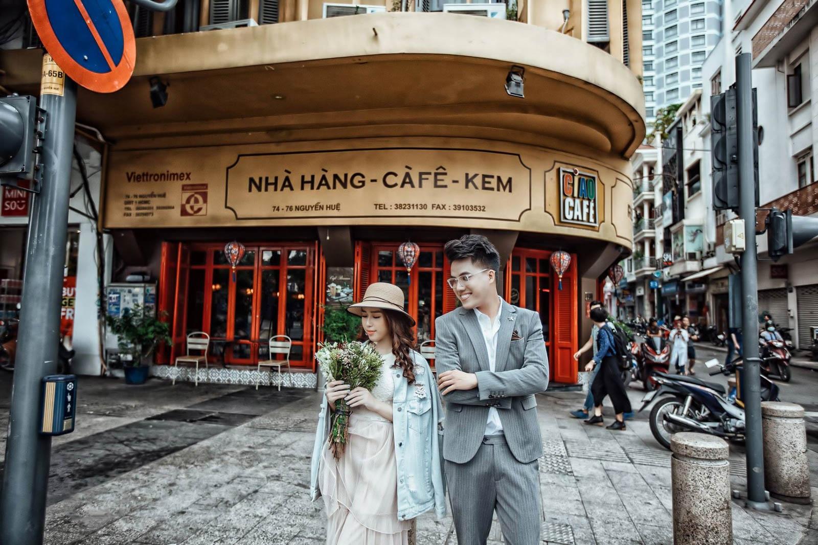 Chụp ảnh cưới giá rẻ Sài Gòn