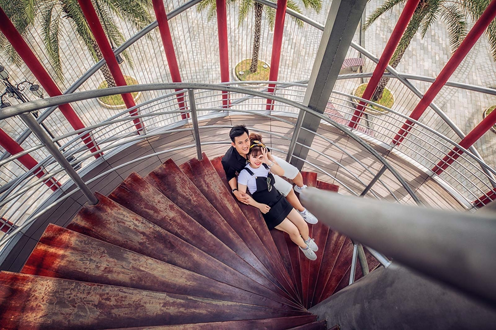 chụp ảnh cưới tại Landmark 81