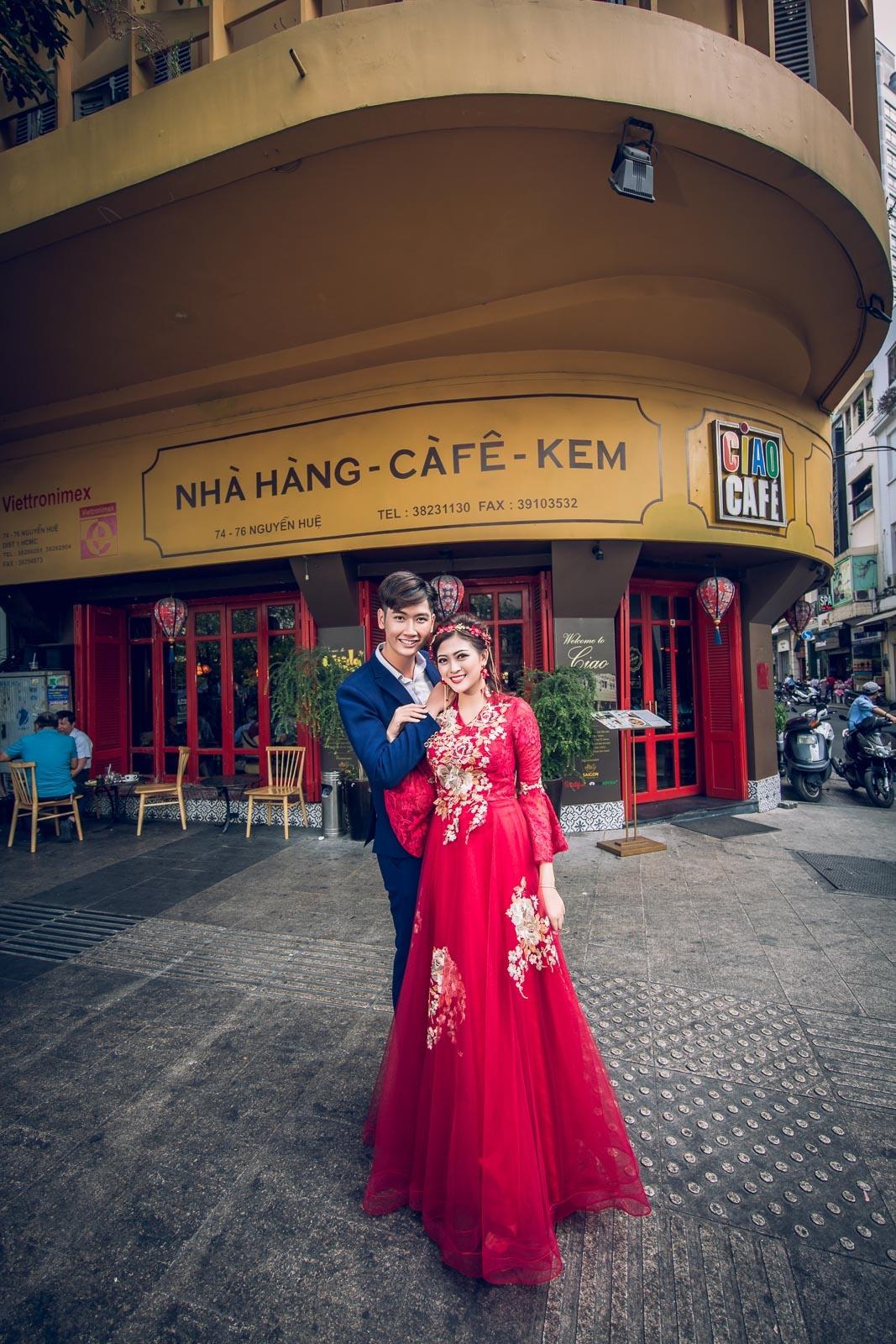 studio chụp ảnh cưới đẹp tại Sài Gòn