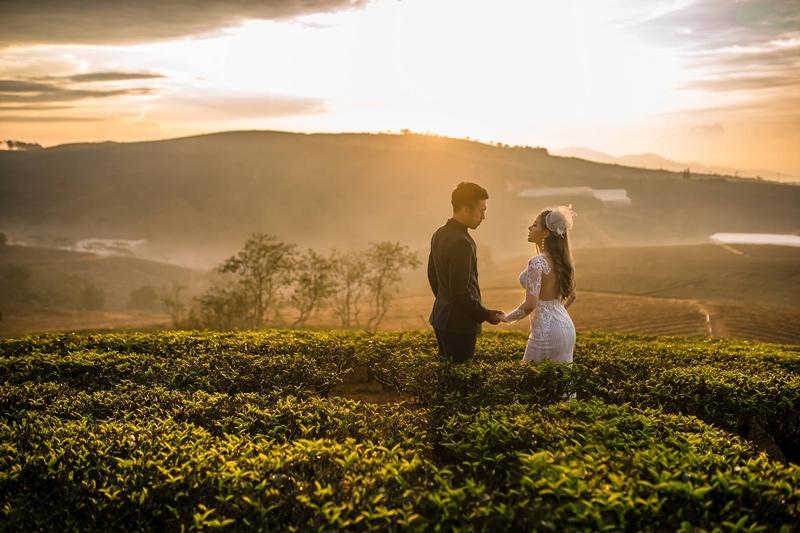 chụp ảnh cưới tại Đà Lạt