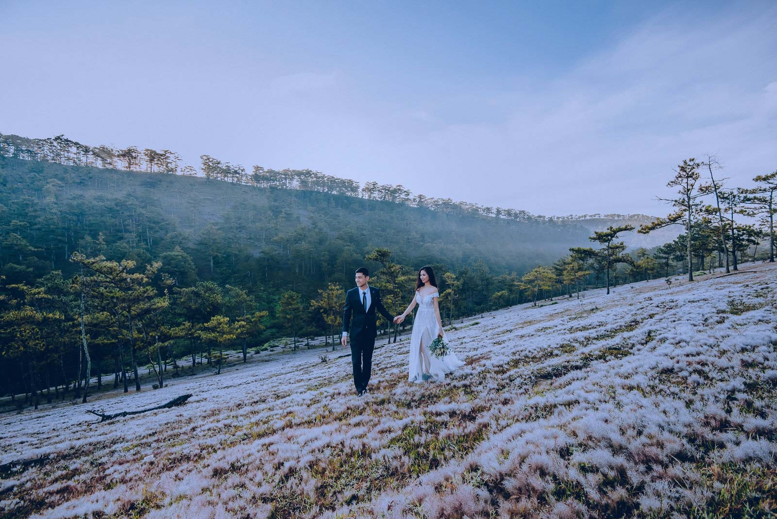 những địa điểm chụp ảnh cưới ở đà lạt