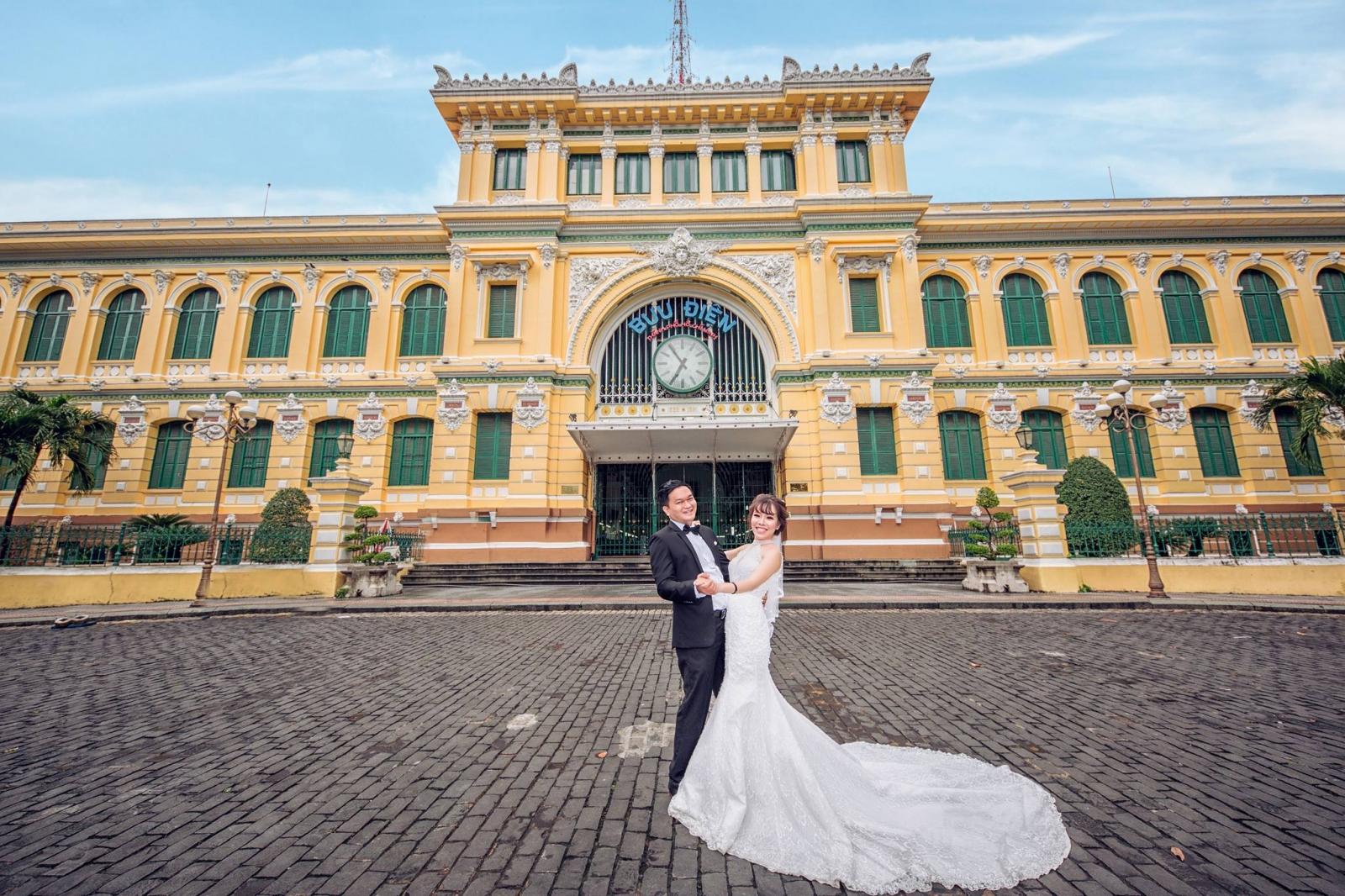 Địa điểm chụp hình cưới Nhà Thờ Đức Bà Sài Gòn TPHCM