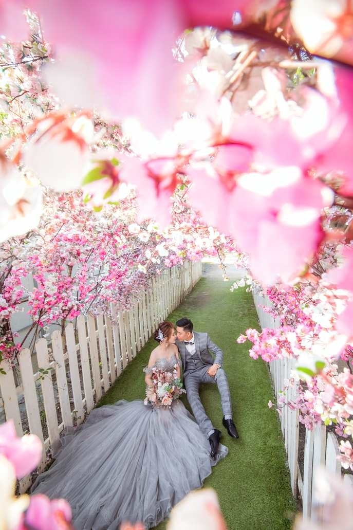 Váy cưới đẹp đuôi cá
