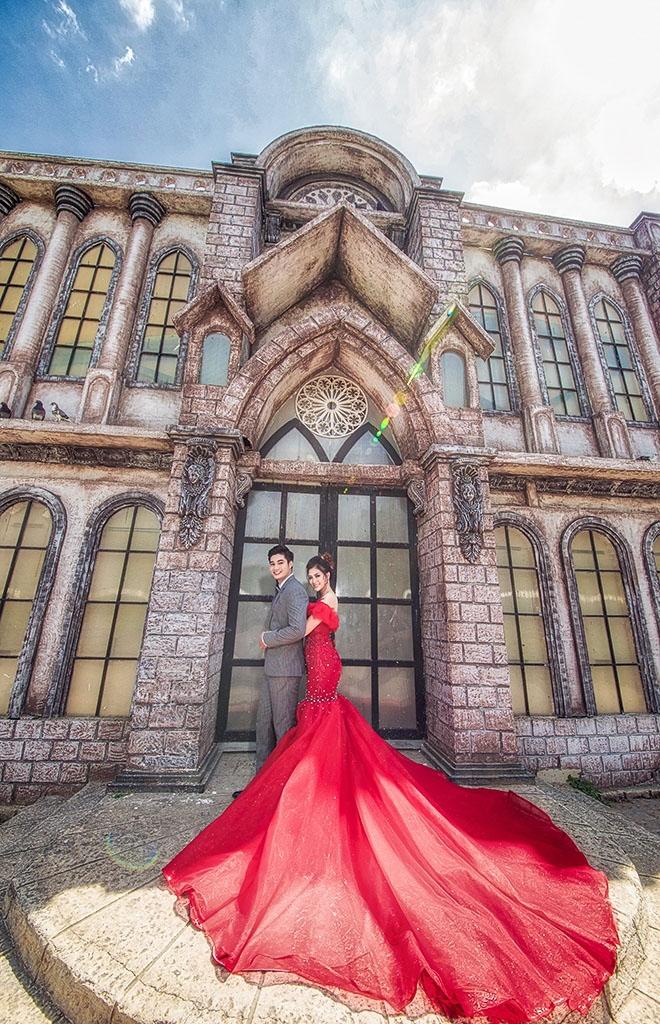 Chụp hình cưới trọn gói phim trường Alibaba