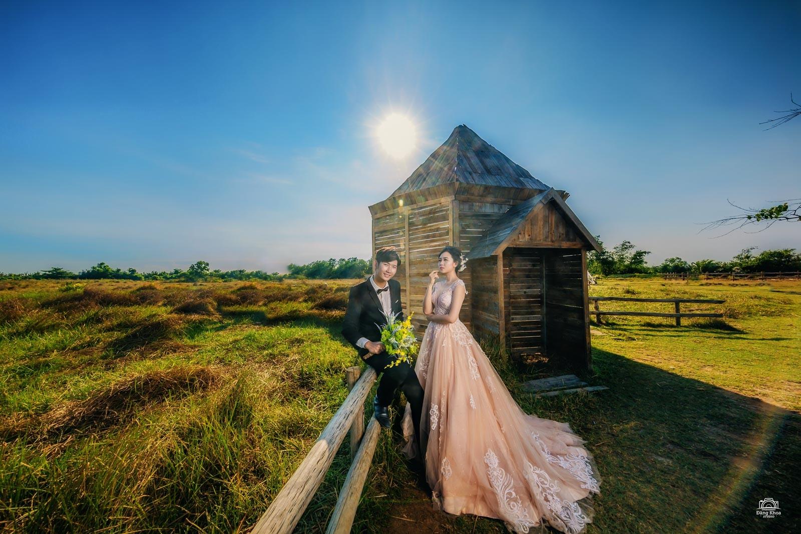 ý tưởng chụp ảnh cưới ngoài trời