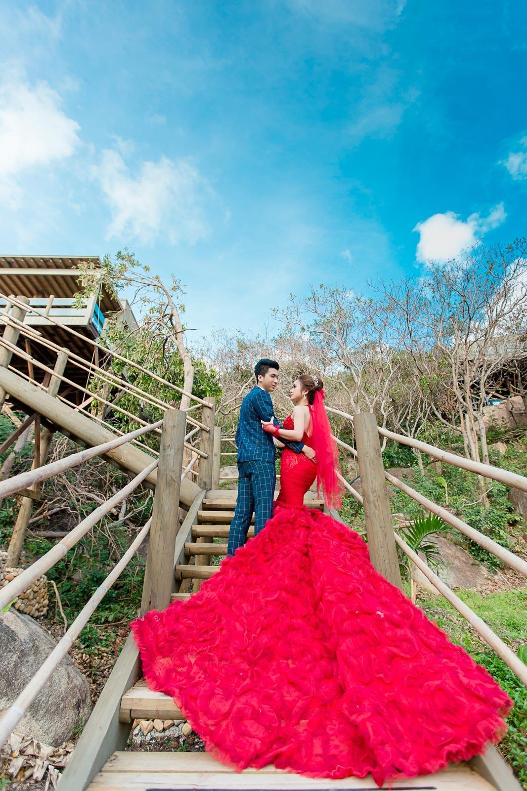 chụp hình cưới ngoại cảnh đẹp giá rẻ