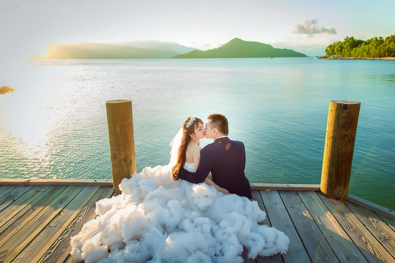 chụp ảnh cưới đẹp ngoại cảnh Sài Gòn