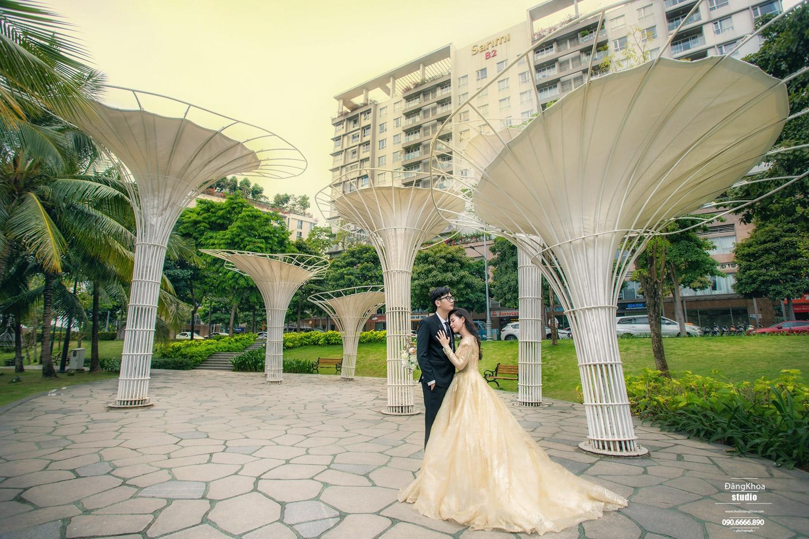 chụp ảnh cưới trọn gói giá rẻ tại sài gòn