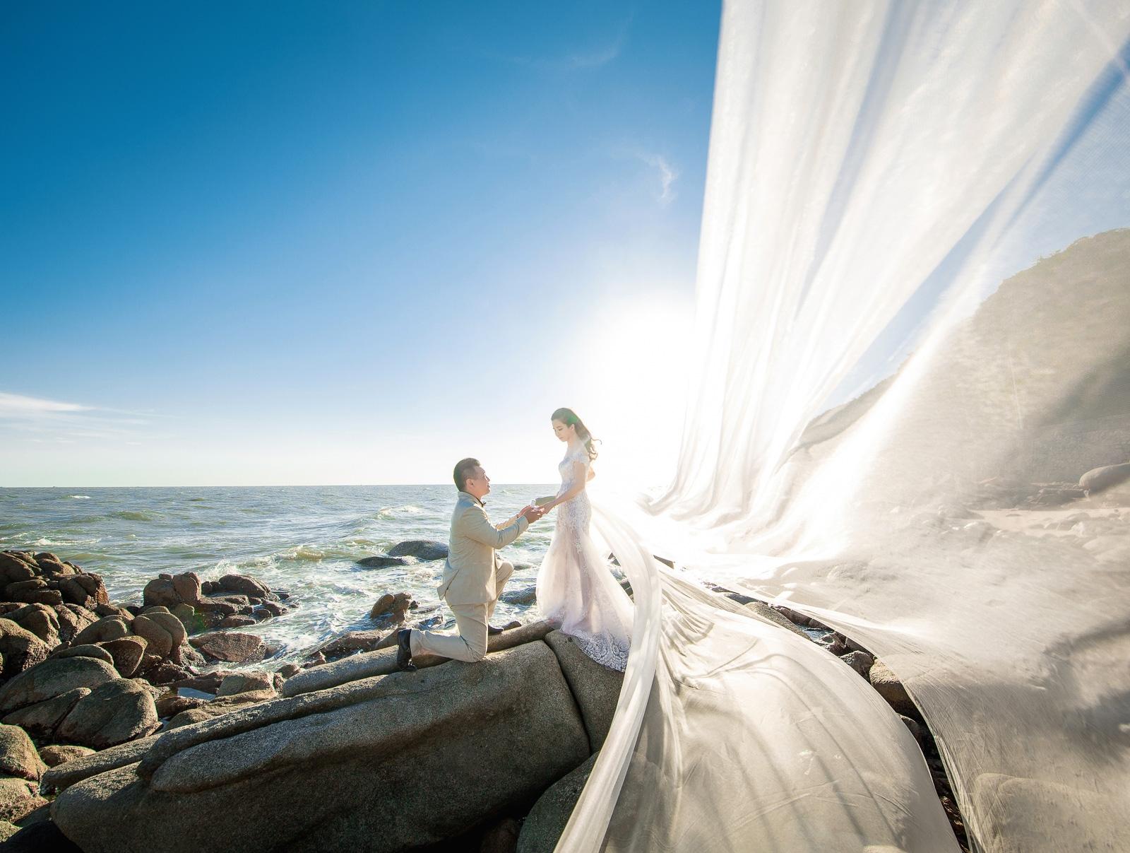 chụp ảnh cưới trọn gói Hồ Cốc