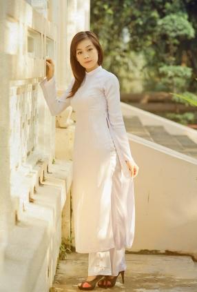 Chụp ảnh chân dung áo dài đẹp giá rẻ nhất TPHCM