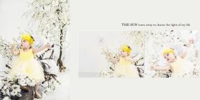 Album ngoại cảnh đẹp bé và gia đình