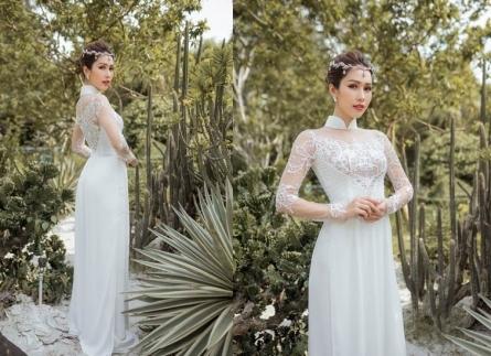 Áo dài cưới thêu tay là xu hướng áo cưới được yêu thích nhất 2021-2022