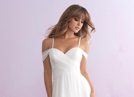 Những mẫu váy cưới đẹp cho cô dâu đãi tiệc ngoài trời.