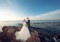 Ảnh cưới biển Hang Rái