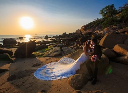 3 địa điểm chụp ảnh cưới đẹp giá rẻ khi đến Phú Quốc