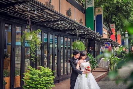 Album cưới cực chất nhưng tiết kiệm tại Sài Gòn
