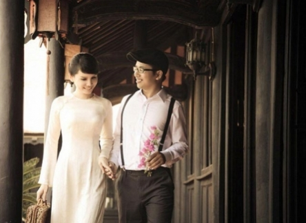 Nhẹ nhàng và ngôn tình với  xu hướng chụp ảnh cưới cổ điển