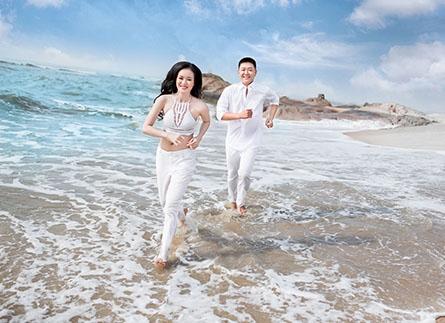 Bí quyết để cô dâu chú rể chụp ảnh cưới biển đẹp nhất