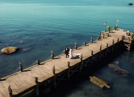 Ảnh cưới đẹp biển Ninh Chữ Vĩnh Hy