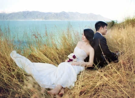 chụp hình cưới nha trang đẹp 2021