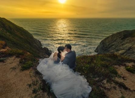 Chụp hình cưới đẹp  ở Hòn Tằm Nha Trang
