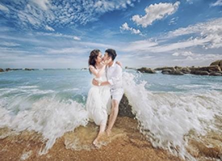 có nên chụp hình cưới ở hồ cốc