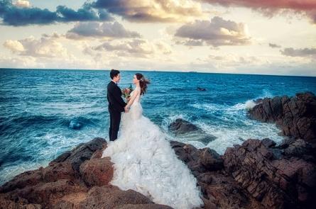 kinh nghiệm chụp ảnh cưới ở Hồ Cốc đơn giản để có album ảnh cưới ĐỘC - ĐẸP nhất