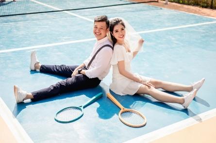 chụp ảnh cưới đẹp tại phim trường Cabin 69