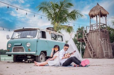Bật mí kinh nghiệm chụp ảnh cưới trong studio cực HOT cho các cặp đôi