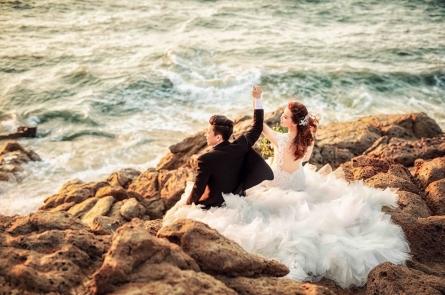 Album hình cưới hồ cốc đẹp giá siêu rẻ siêu chất cho các cặp đôi chuẩn bị cưới