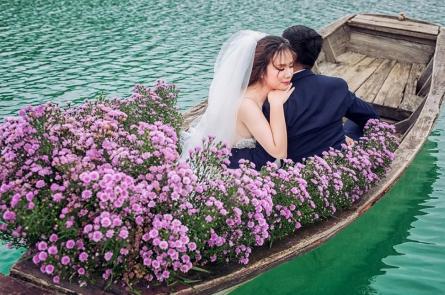 Chụp hình cưới ở Hồ Cốc giá bao nhiêu ?