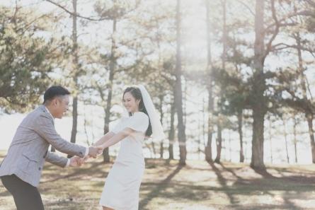 dịch vụ chụp ảnh cưới ở Đà Lạt