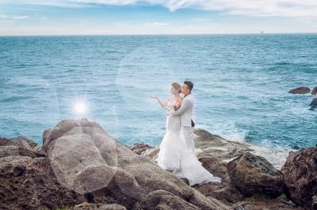 những địa điểm chụp hình cưới đẹp ở vũng tàu