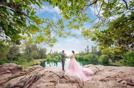 Chụp hình cưới Hồ Cốc Vũng Tàu đẹp nhất