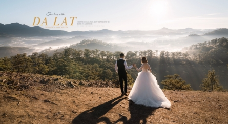 Các studio chụp ảnh cưới đẹp ở Đà Lạt
