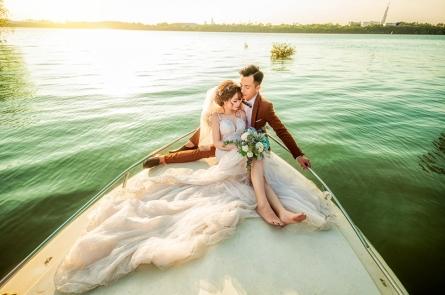 Chụp hình cưới trọn gói giá rẻ tại phim trường 2021-2022